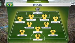ブラジルのスタメン